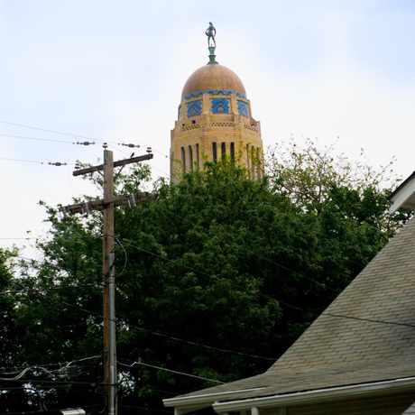 Photo of View of Nebraska State Capital from Everett Neighborhood. in Everett, Lincoln