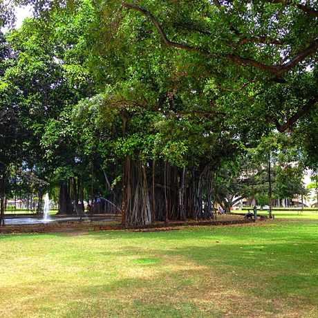 Photo of Thomas Square Park in Honolulu