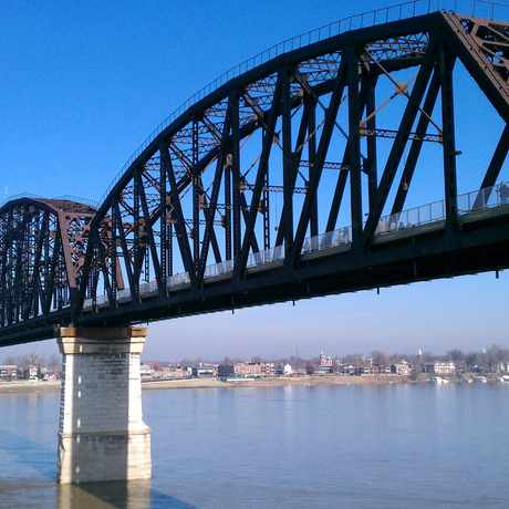 Photo of Big Four Bridge in Louisville-Jefferson