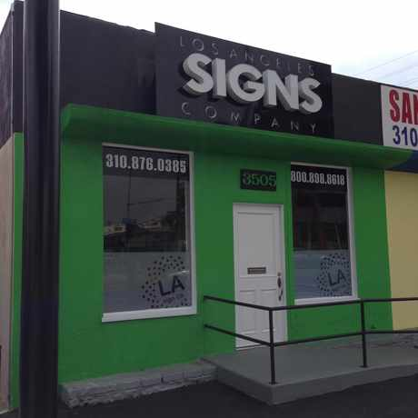 Photo of Lox Angeles Signs Company in Palms, Los Angeles