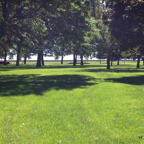 Photo of Harold Washington Park in East Hyde Park, Chicago
