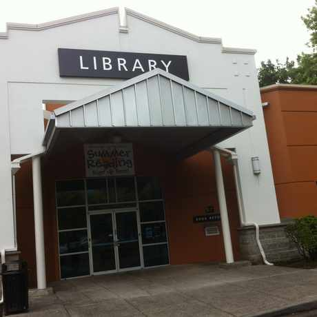 Photo of Gresham Library in Downtown, Gresham