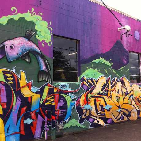 Photo of Brooklyn Street Art in Brooklyn, Portland