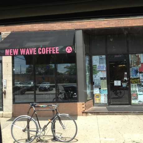 Photo of New Wave Coffee in Logan Square, Chicago