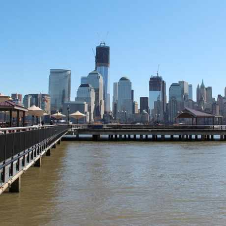 Photo of Manhattan Skyline in Jersey City