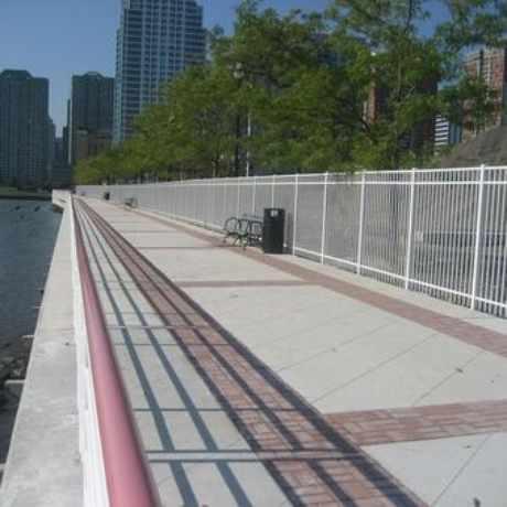 Photo of Waterfront Bridge Linking Hoboken to Jersey City, NJ in The Waterfront, Jersey City