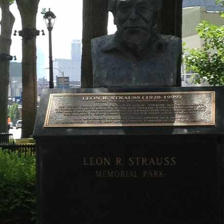 Photo of Strauss Park in Grand Center, St. Louis