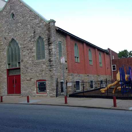 Photo of Enon Tabernacle Baptist church in Germantown, Philadelphia