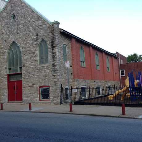 Photo of Enon Tabernacle Baptist church in Germantown, Philadelphia
