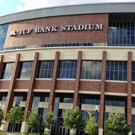 Photo of Tcf Bank Stadium in Prospect Park, Minneapolis
