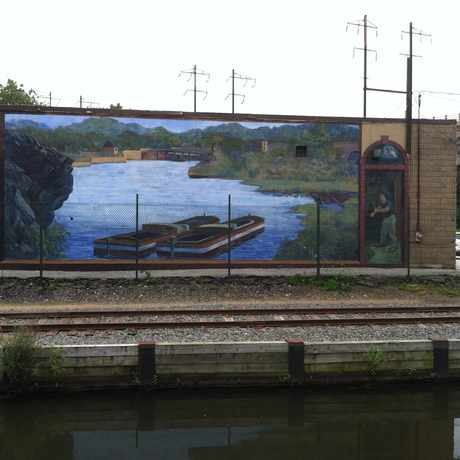 Photo of Canal Mural in Manayunk, Philadelphia