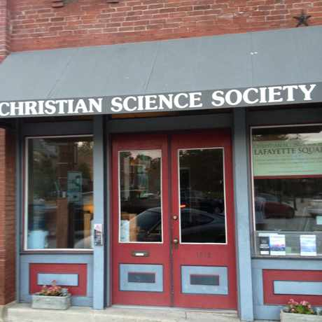 Photo of Christian Science Society in Lafayette Square, St. Louis