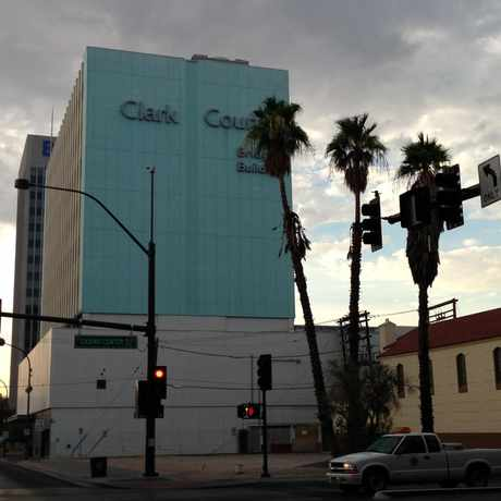 Photo of Clark County Bridge Building in Downtown, Las Vegas
