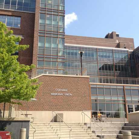 Photo of Coffman Memorial Union in University, Minneapolis