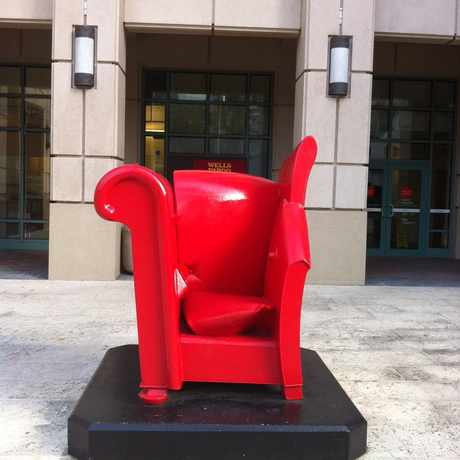 Photo of Big Red Chair in Downtown, Fort Lauderdale