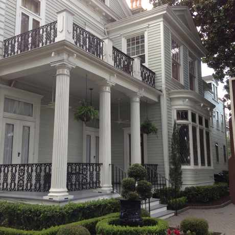 Photo of Elms Mansion in Central City, New Orleans