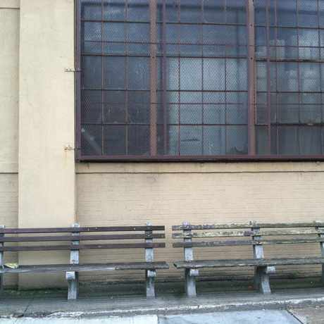 Photo of Bench on Grand Ave in Maspeth, New York