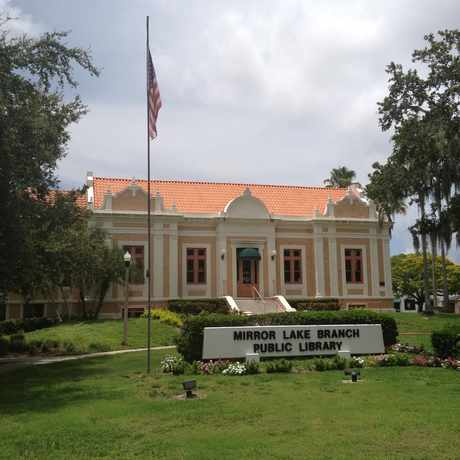 Photo of Mirror Lake Library in St. Petersburg