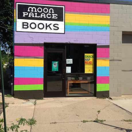 Photo of Moon Palace Books in Longfellow, Minneapolis