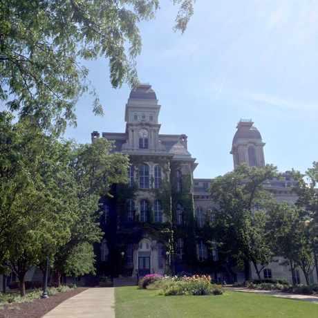 Photo of Syracuse University: Hall of Languages in Syracuse