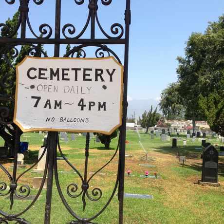 Photo of San Gabriel Cemetery in San Gabriel