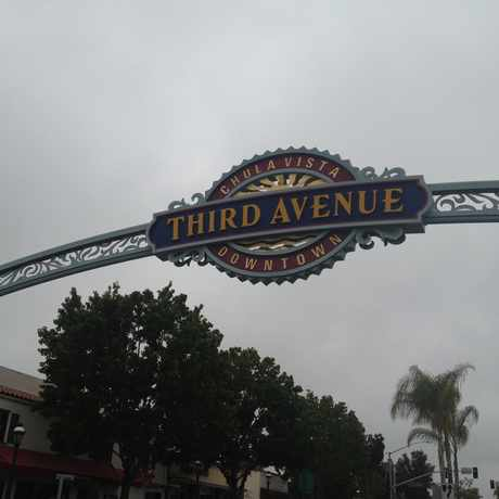 Photo of Chula Vista Sign in Central Chula Vista, Chula Vista