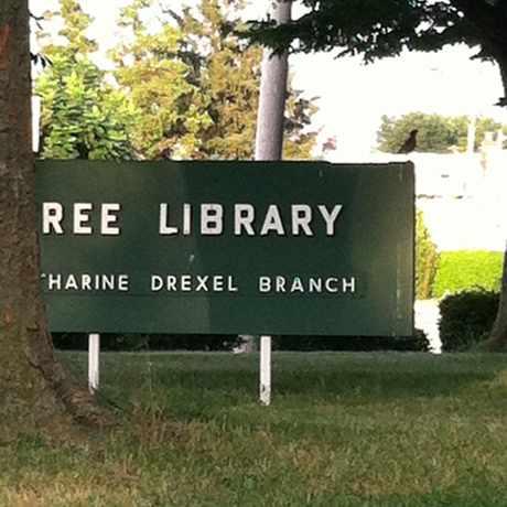 Photo of Katherine Drexel Library in Northeast Philadelphia, Philadelphia
