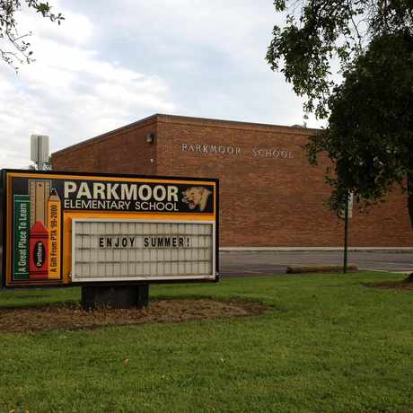 Photo of Parkmoor Elementary School in Forest Park East, Columbus