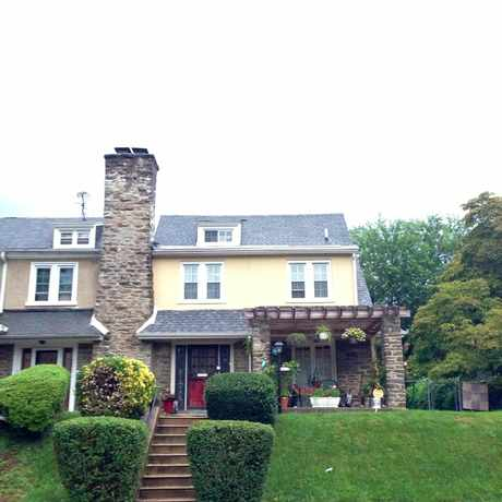 Photo of Sprague St & Phil Ellena St in East Mount Airy, Philadelphia
