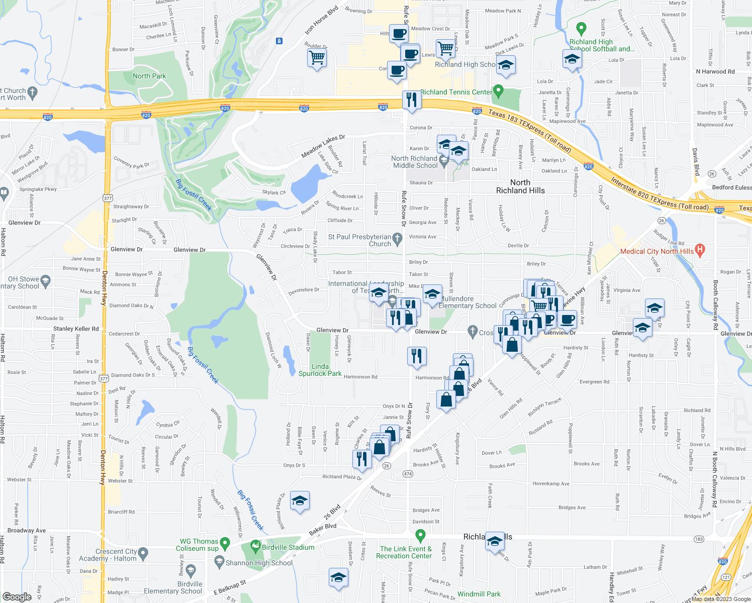 Glenwick Apartment North Richland Hills TX Walk Score