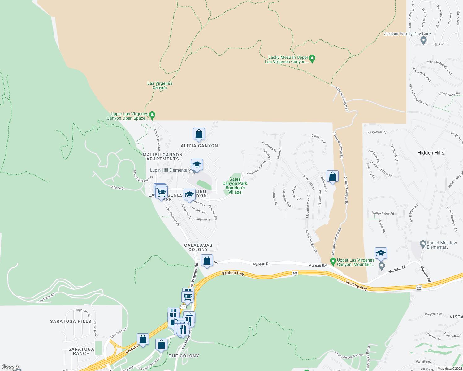 25801 Thousand Oaks Boulevard Calabasas CA Walk Score
