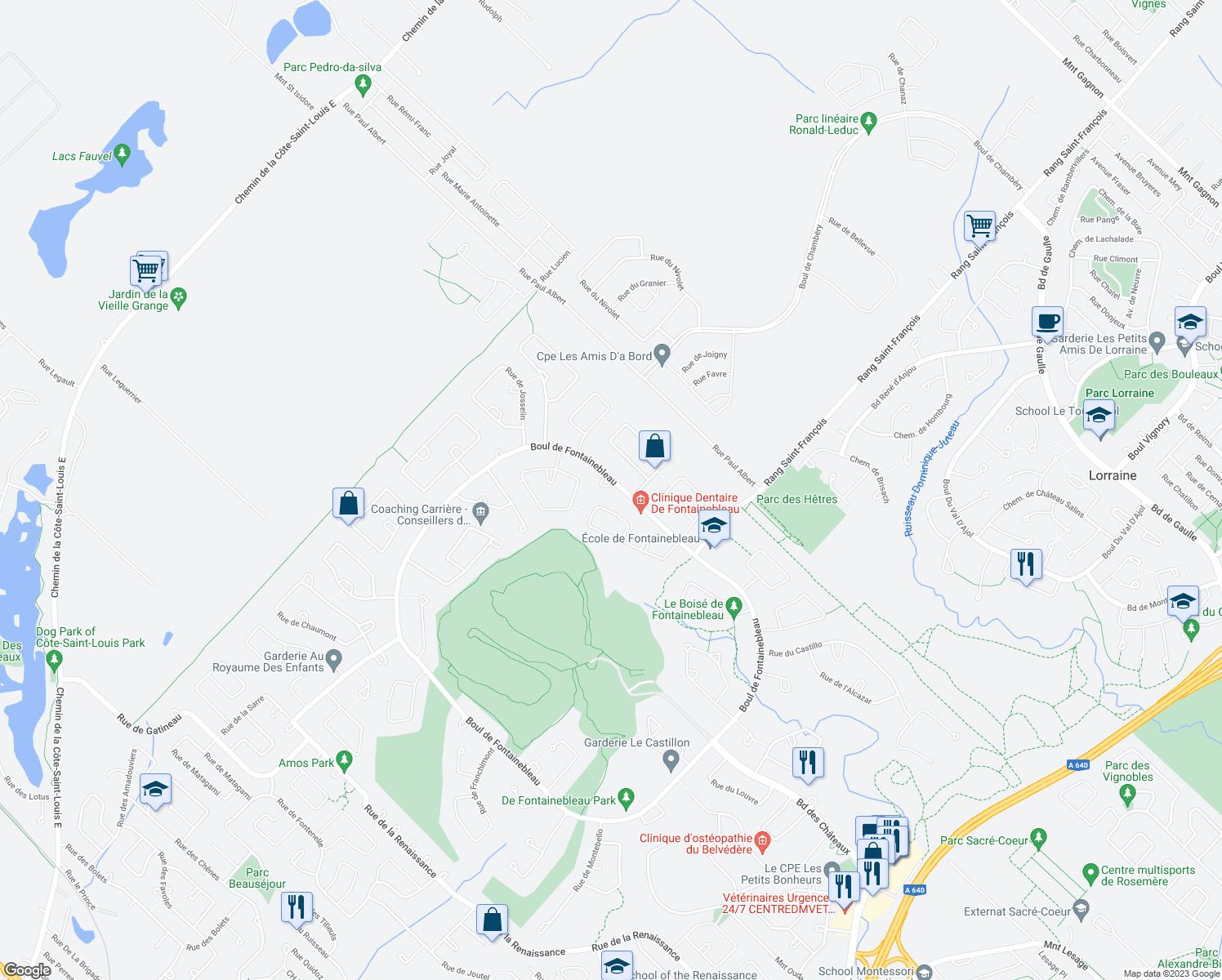 461 Boulevard de Fontainebleau Blainville QC Walk Score