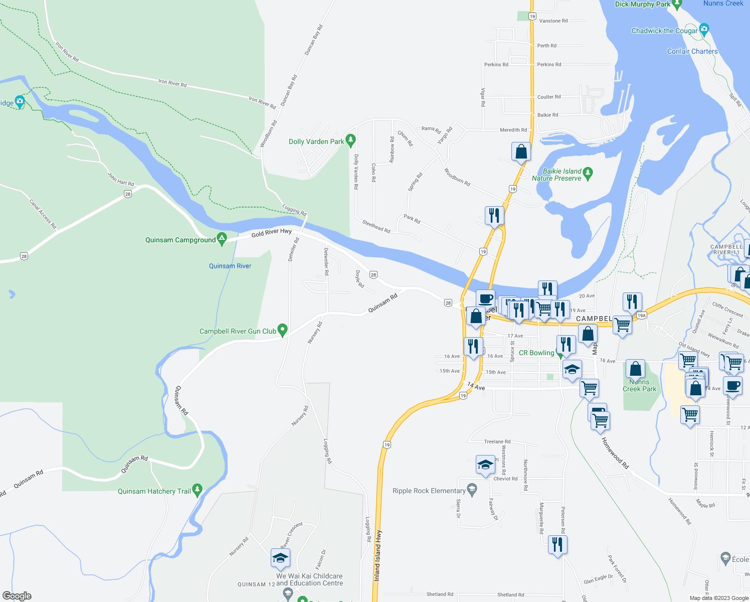 2360 Quinsam Road Campbell River BC Walk Score