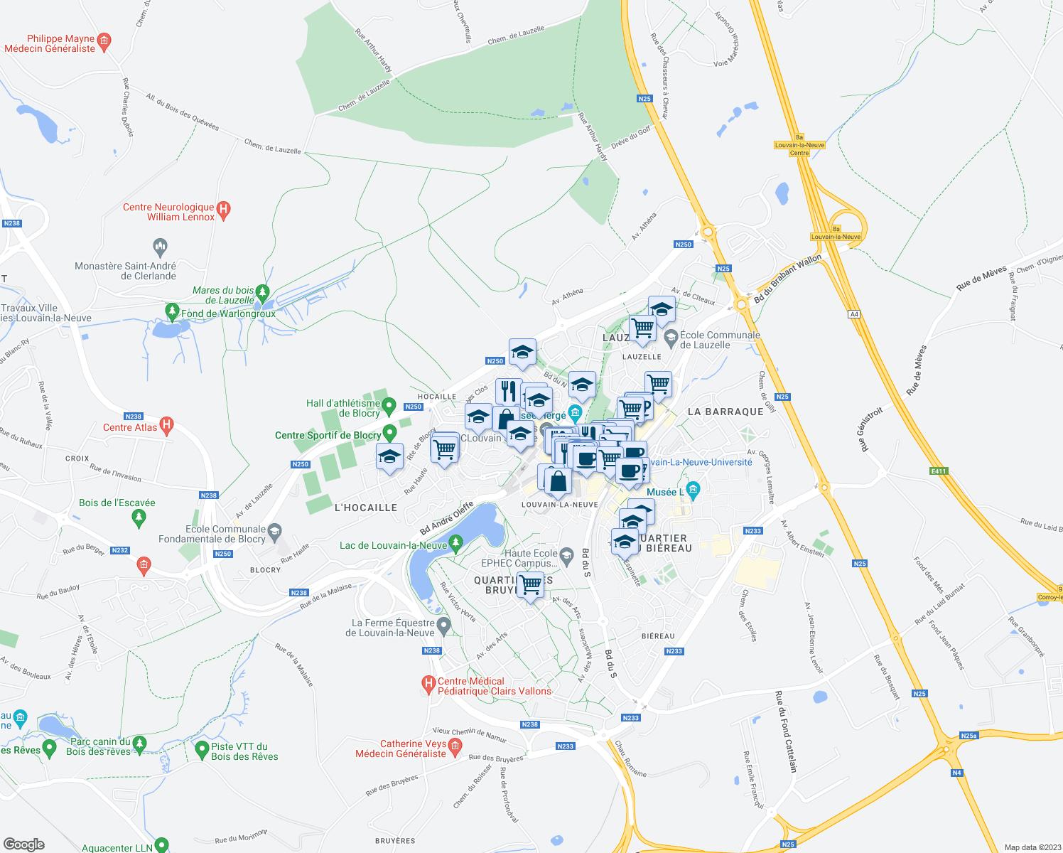 8 Voie Cardijn OttigniesLouvainlaNeuve Walloon Region Walk Score