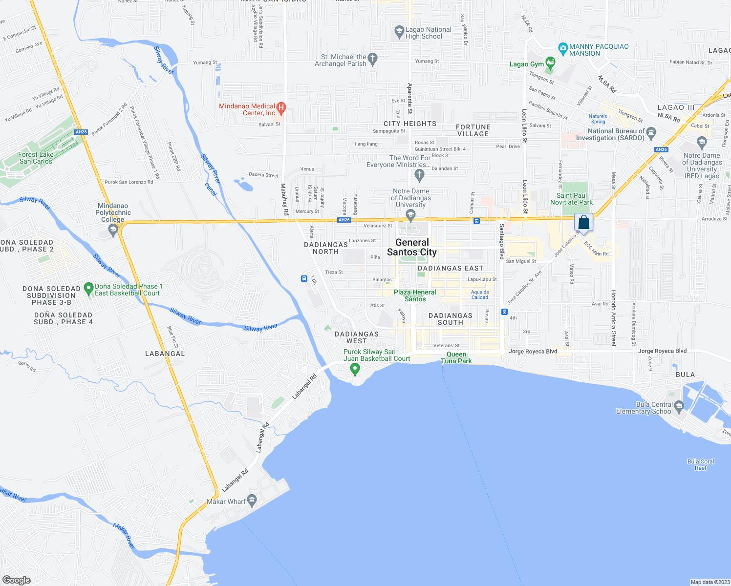 PresRamon Magsaysay Avenue General Santos City SOCCSKSARGEN Walk