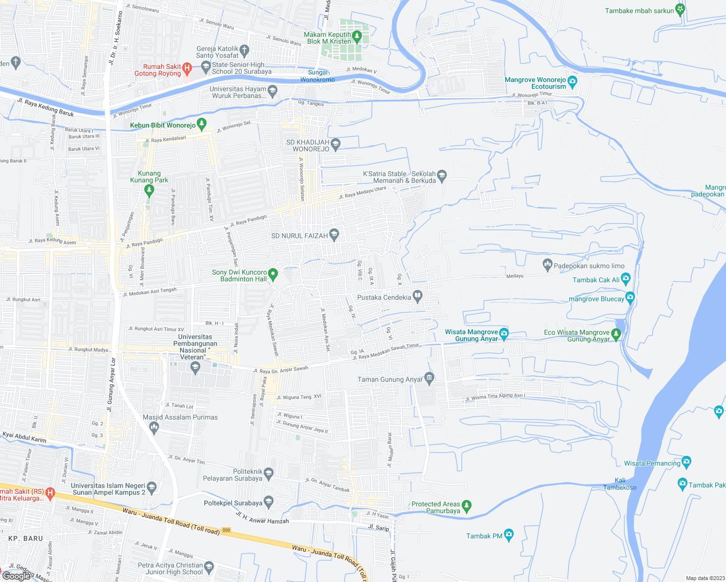 Jalan Tambak Medokan Ayu Kota Surabaya Jawa Timur Walk Score
