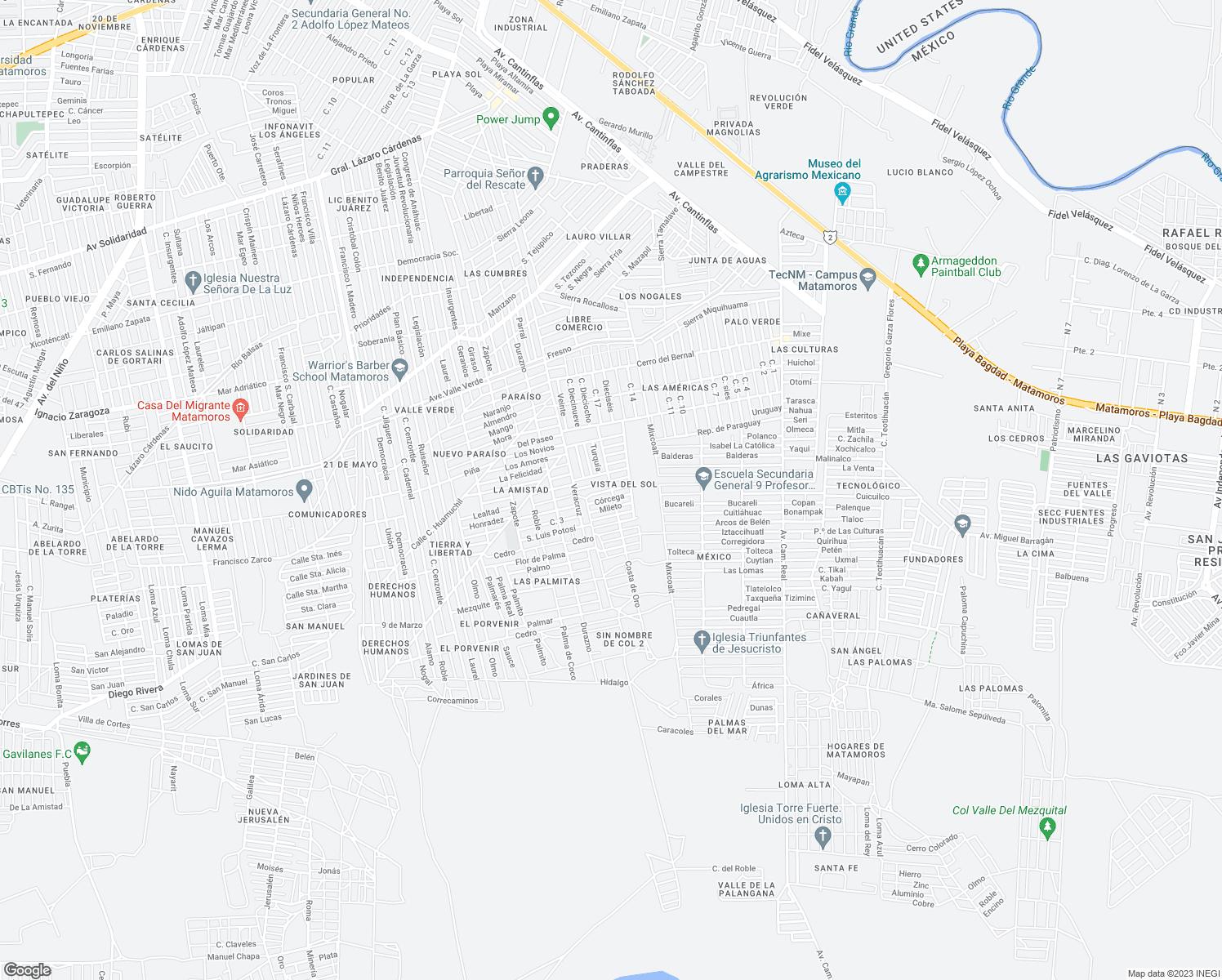 Nepal, Matamoros TAMPS - Walk Score