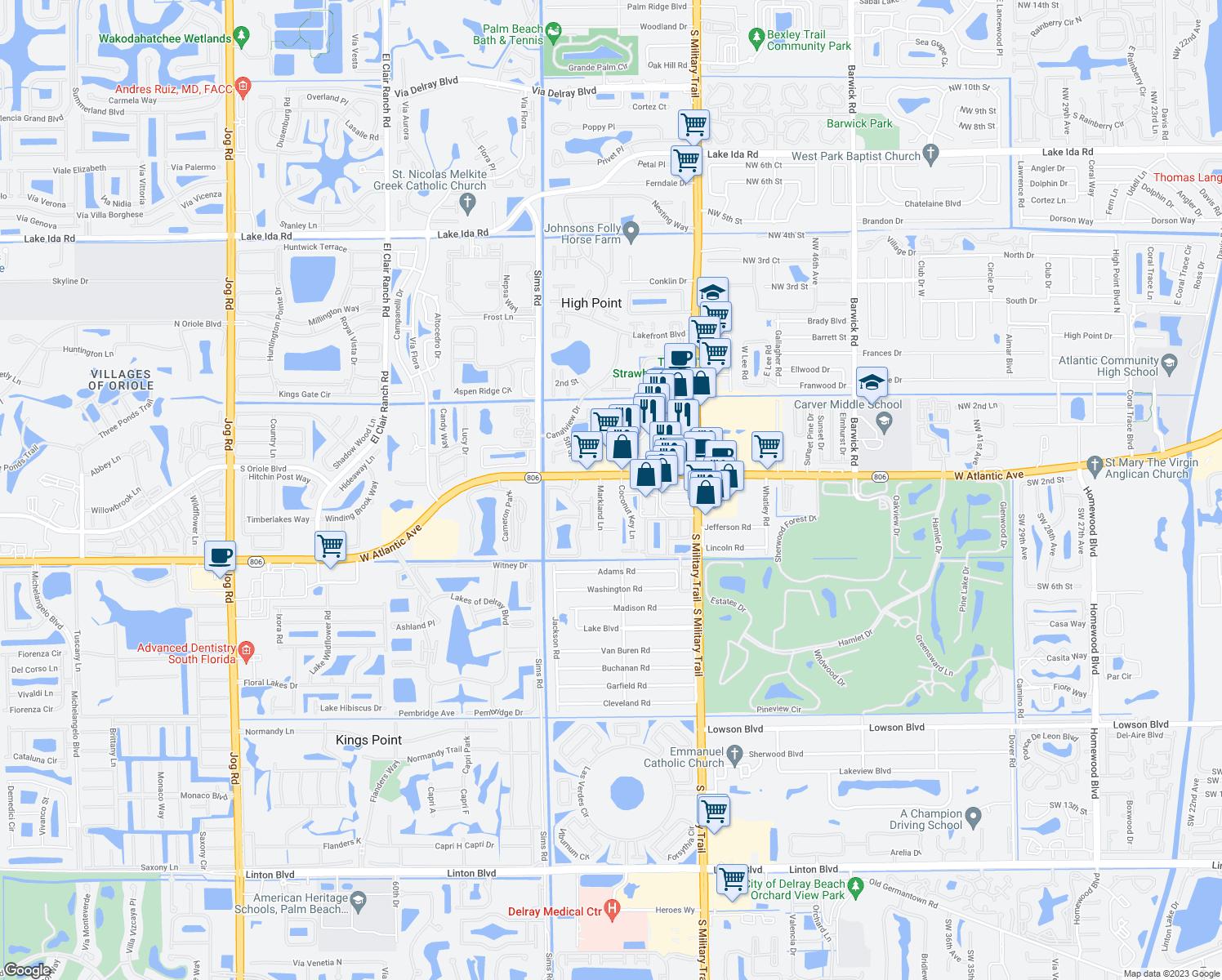 5300 West Atlantic Avenue Delray Beach FL  Walk Score