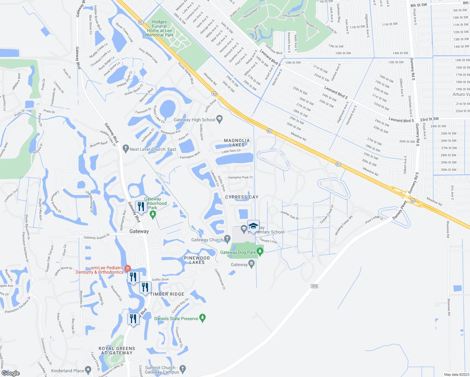 13385 Bristol Park Way Fort Myers Fl Walk Score