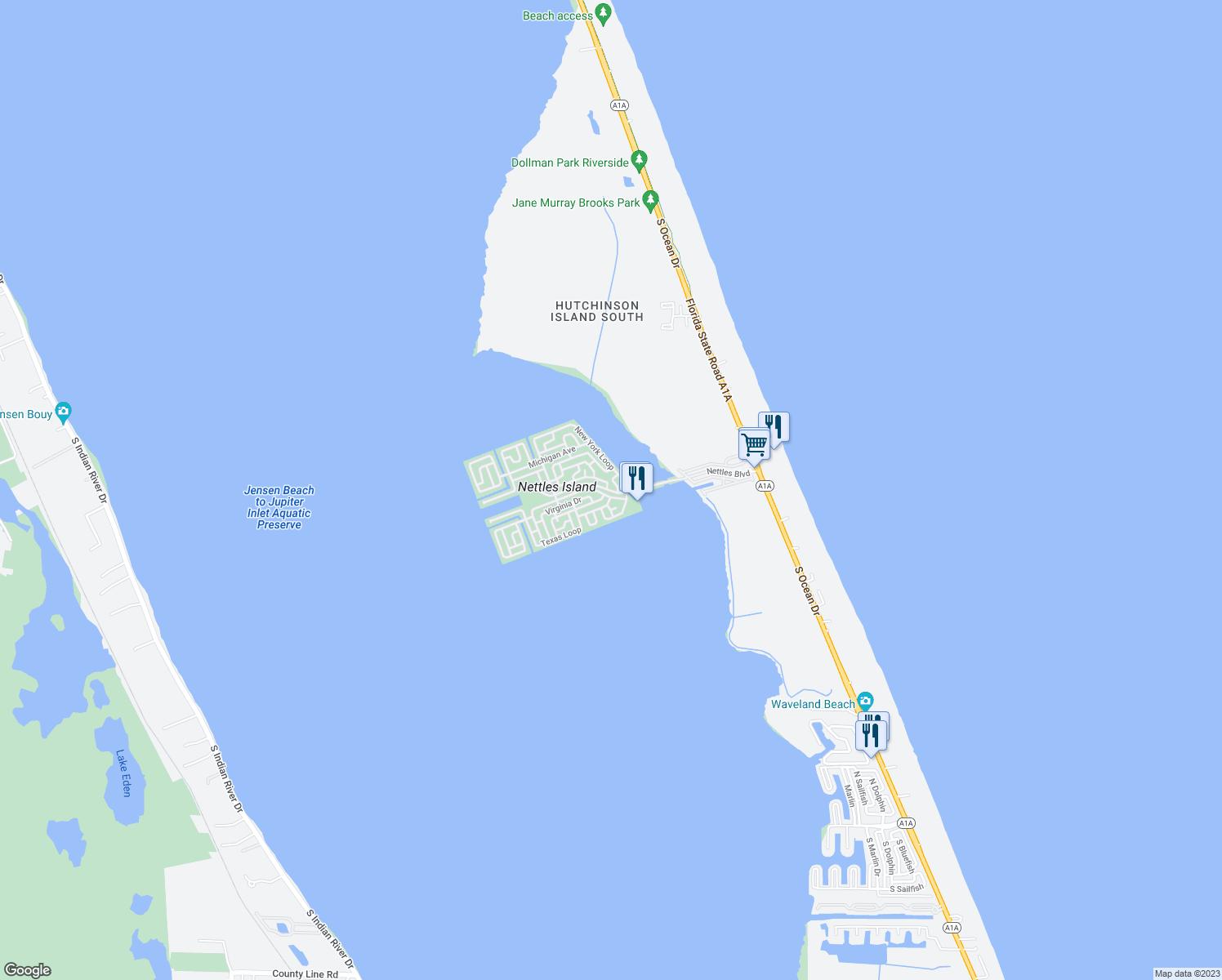 Nettles Island Florida Map.973 Nettles Boulevard Single Family Home Jensen Beach Fl Walk Score