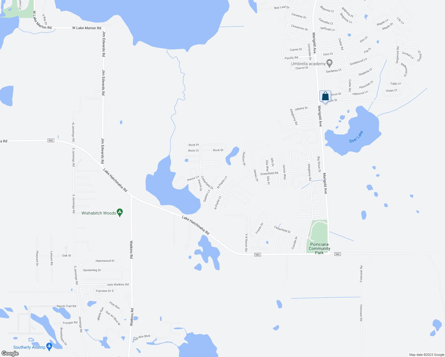1156 North Platte Lane, Poinciana FL - Walk Score