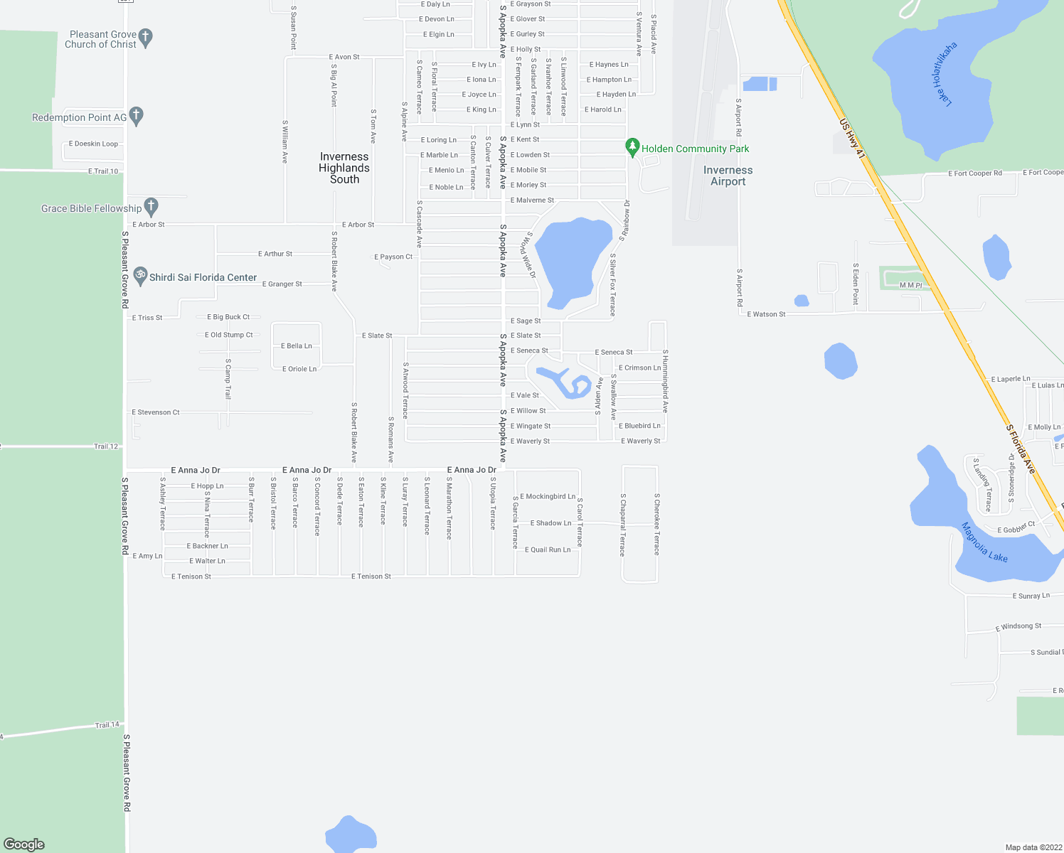 East Wingate Street Inverness FL Walk Score - Florida map inverness