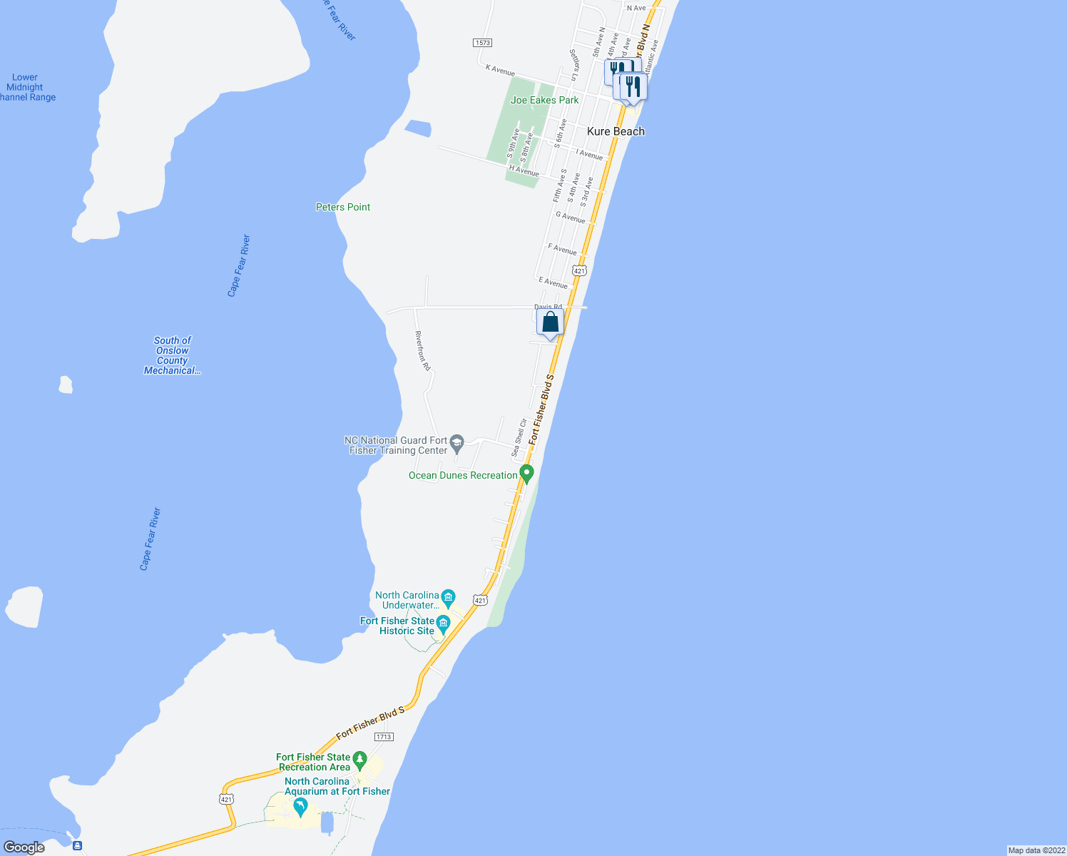 Restaurants Near Me Kure Beach