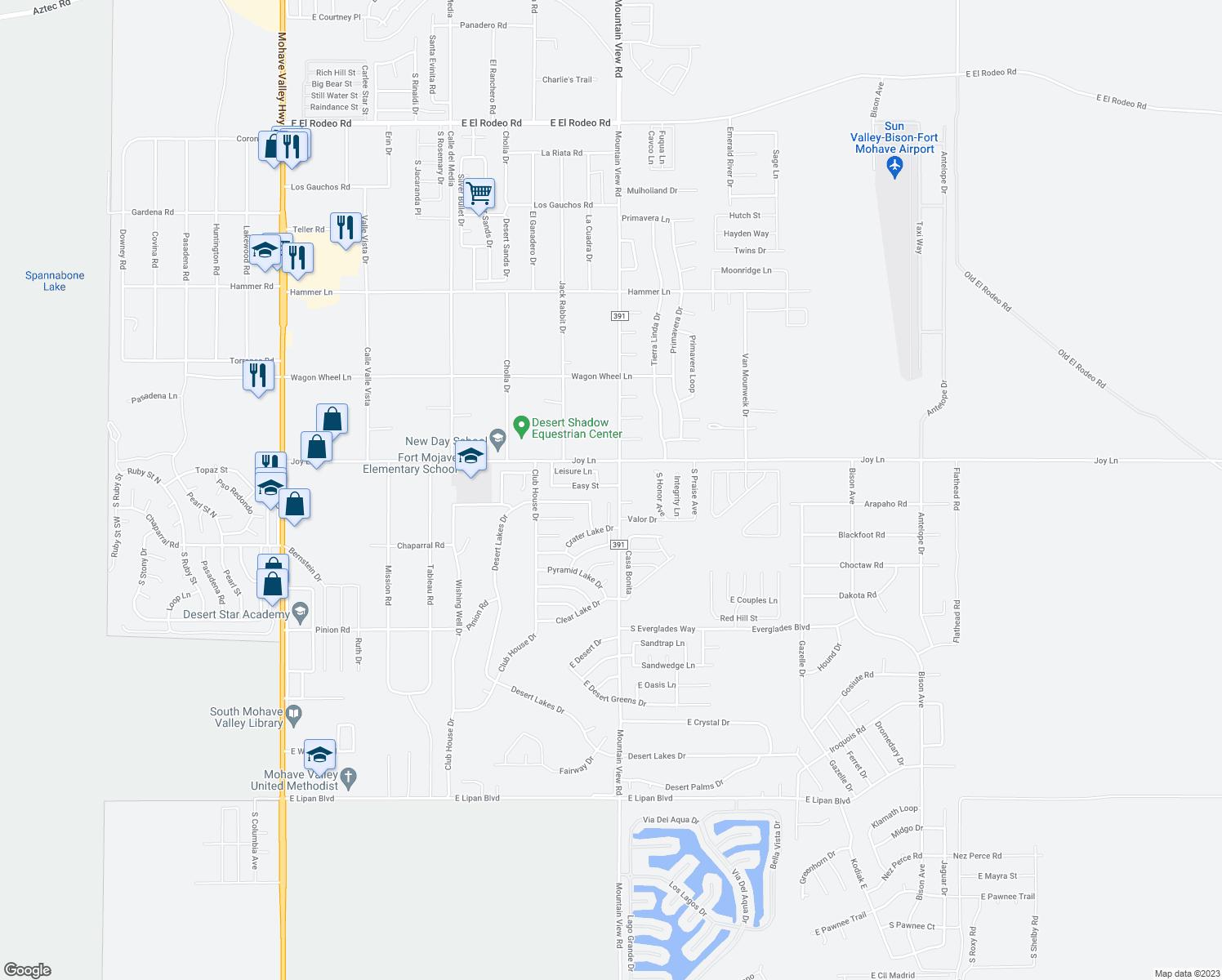 Image Result For Map Bullhead City