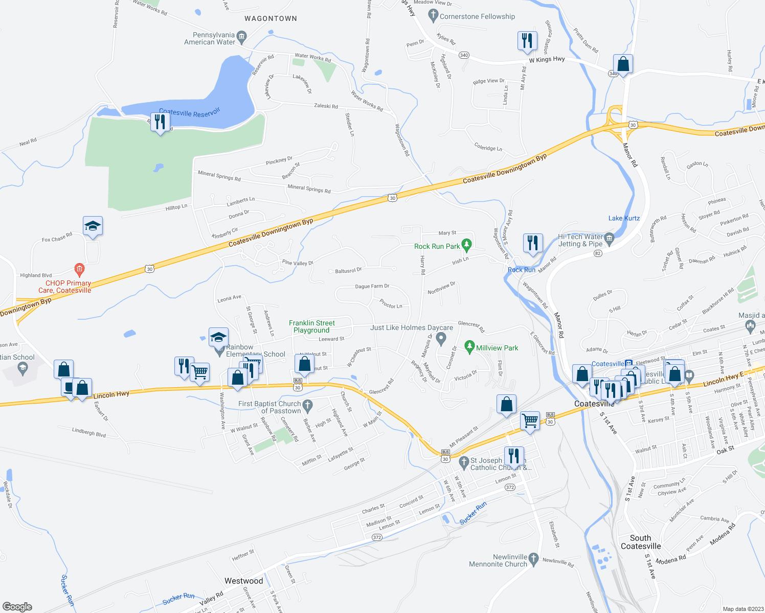 Restaurants Near Coatesville