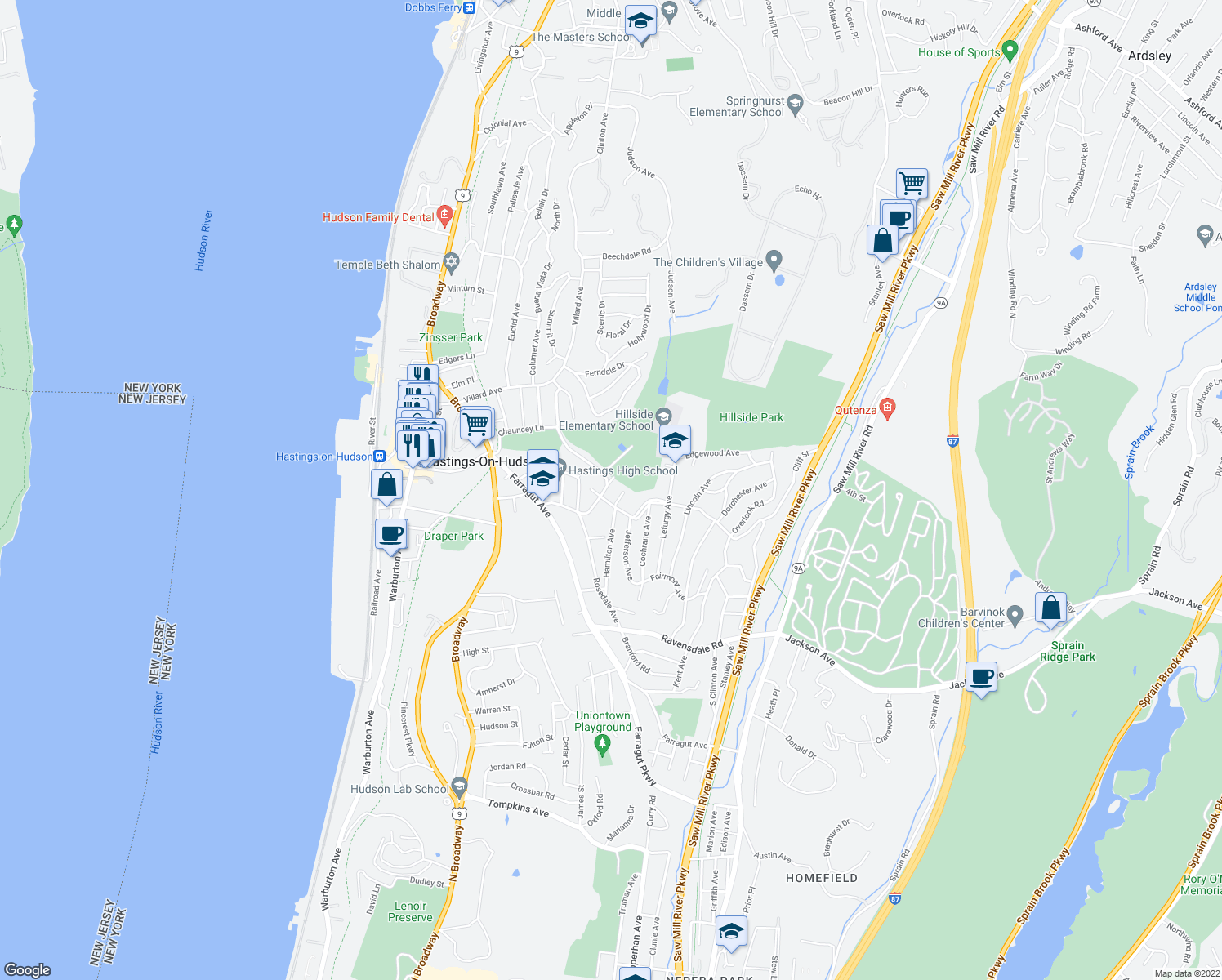 Restaurants Near Hastings On Hudson