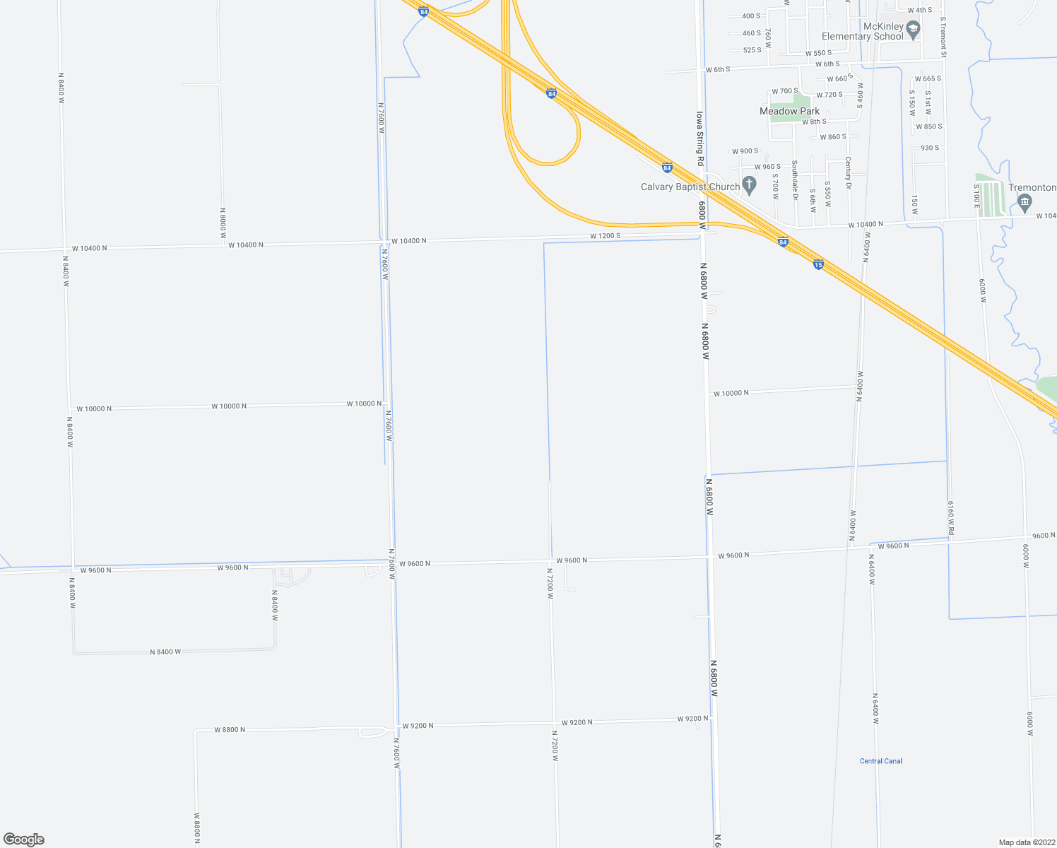 map of restaurants, bars, coffee shops, grocery stores, and more near 460 West 600 North in Tremonton