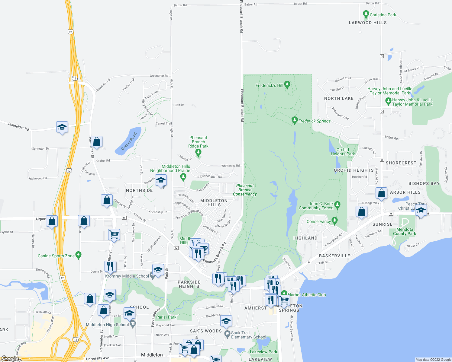 Bars And Restaurants In Middleton Wi