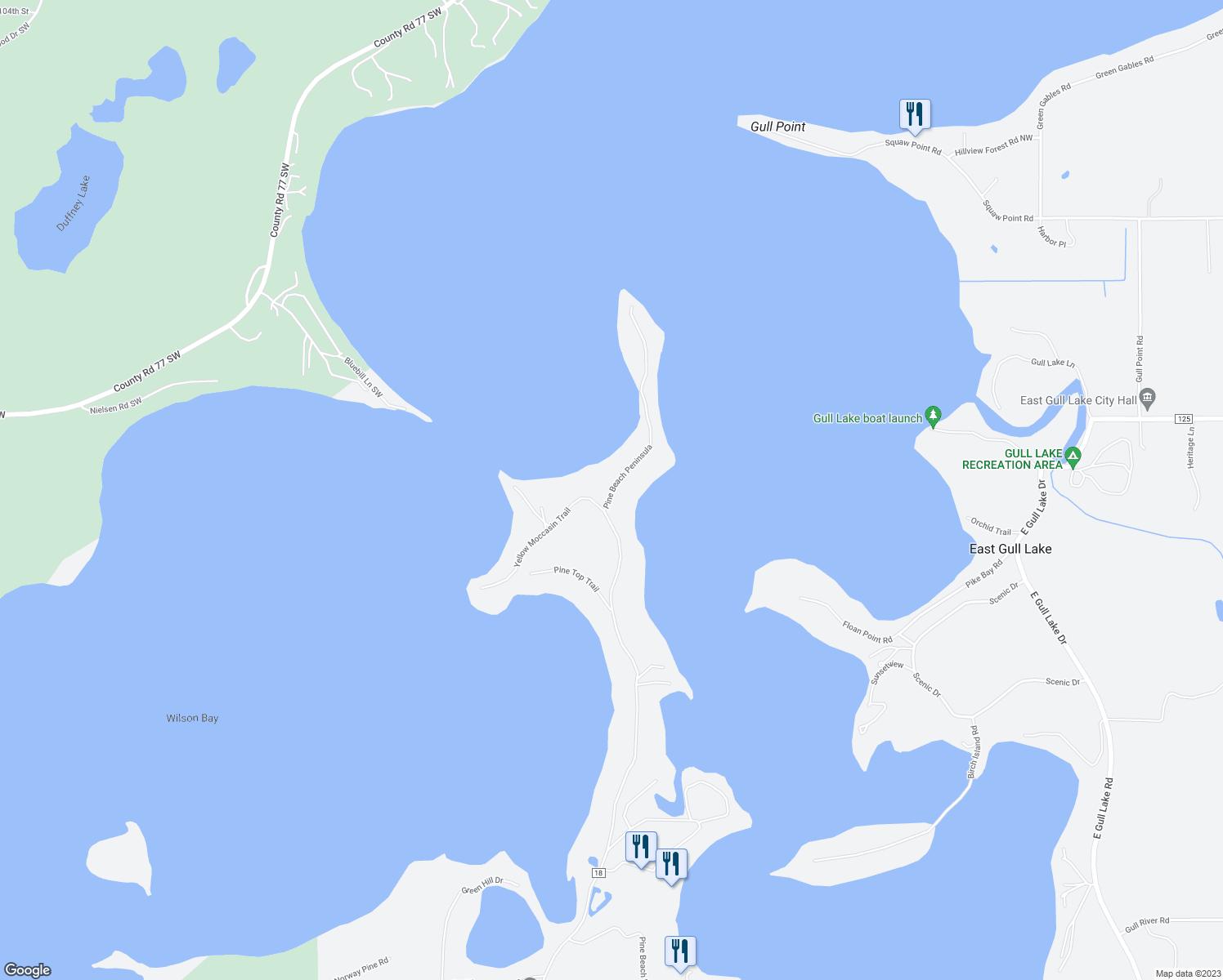 East Gull Lake Restaurants