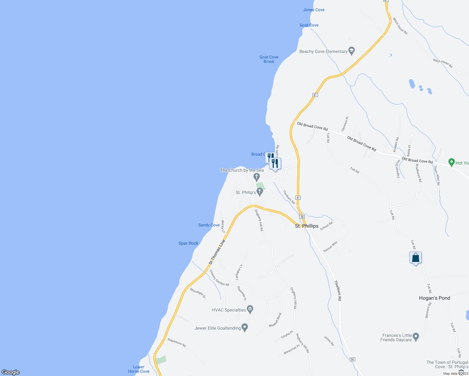 Oceans Edge Portugal CoveSt Philips NL Walk Score - Portugal cove nl map